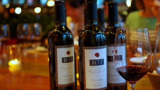 Betz Winery Tasting